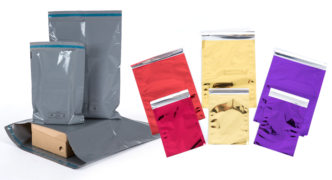 ecommerce packaging and mailing bags from IPS Packaging, Ireland