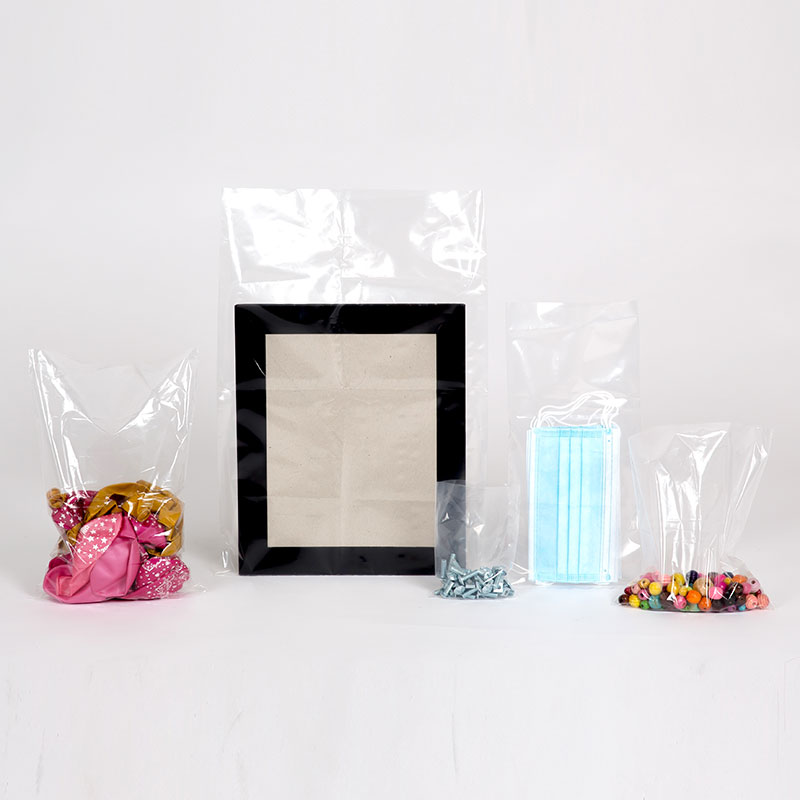 clear packing bags